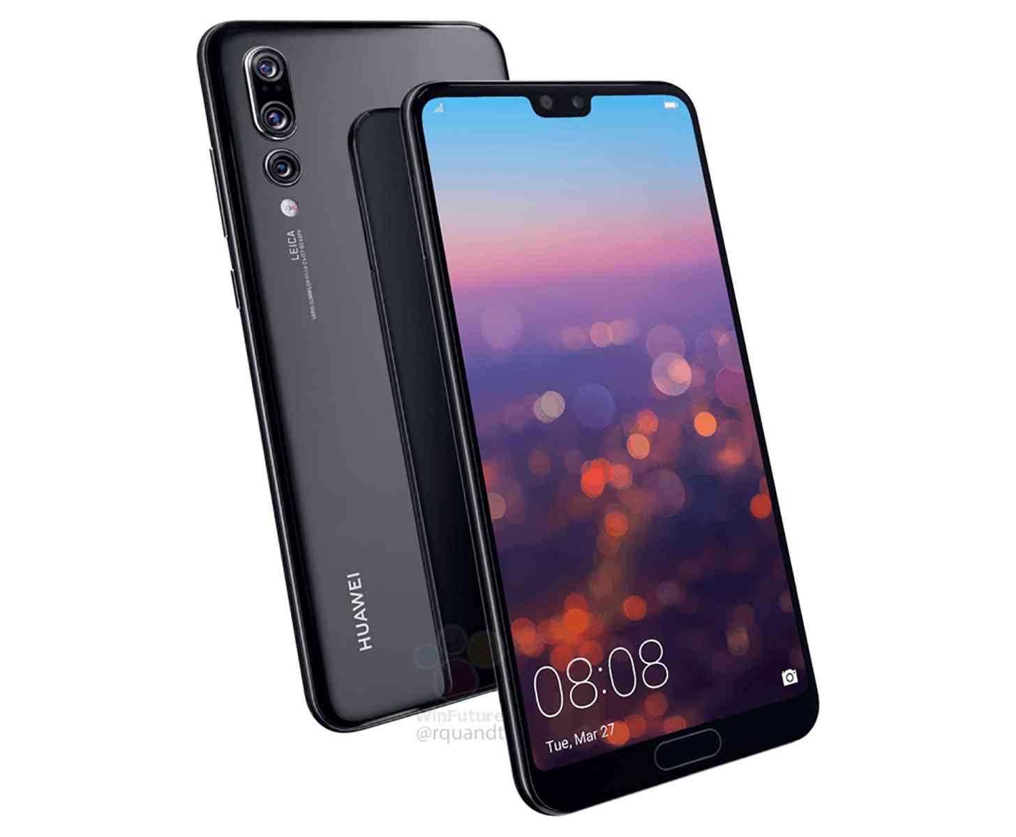 Huawei P20 Pro image leak
