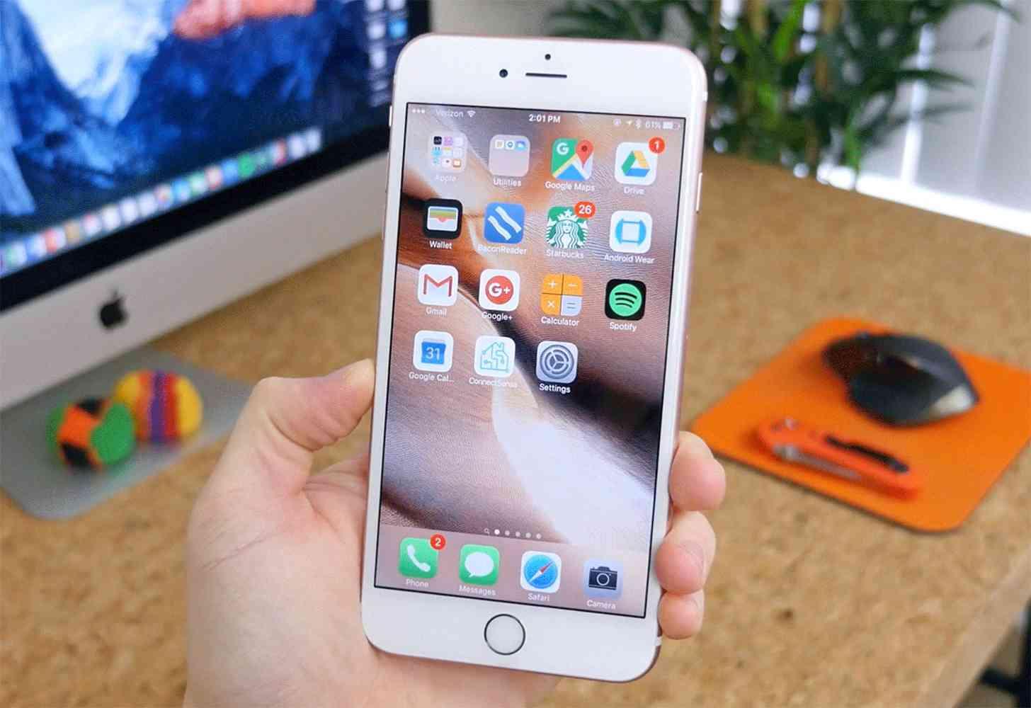iOS 9 iPhone 6s Plus