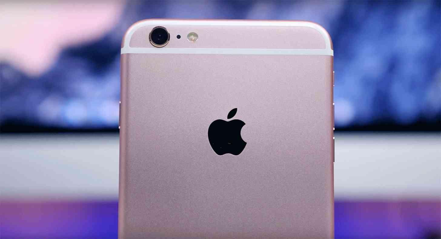iPhone 6s Apple logo