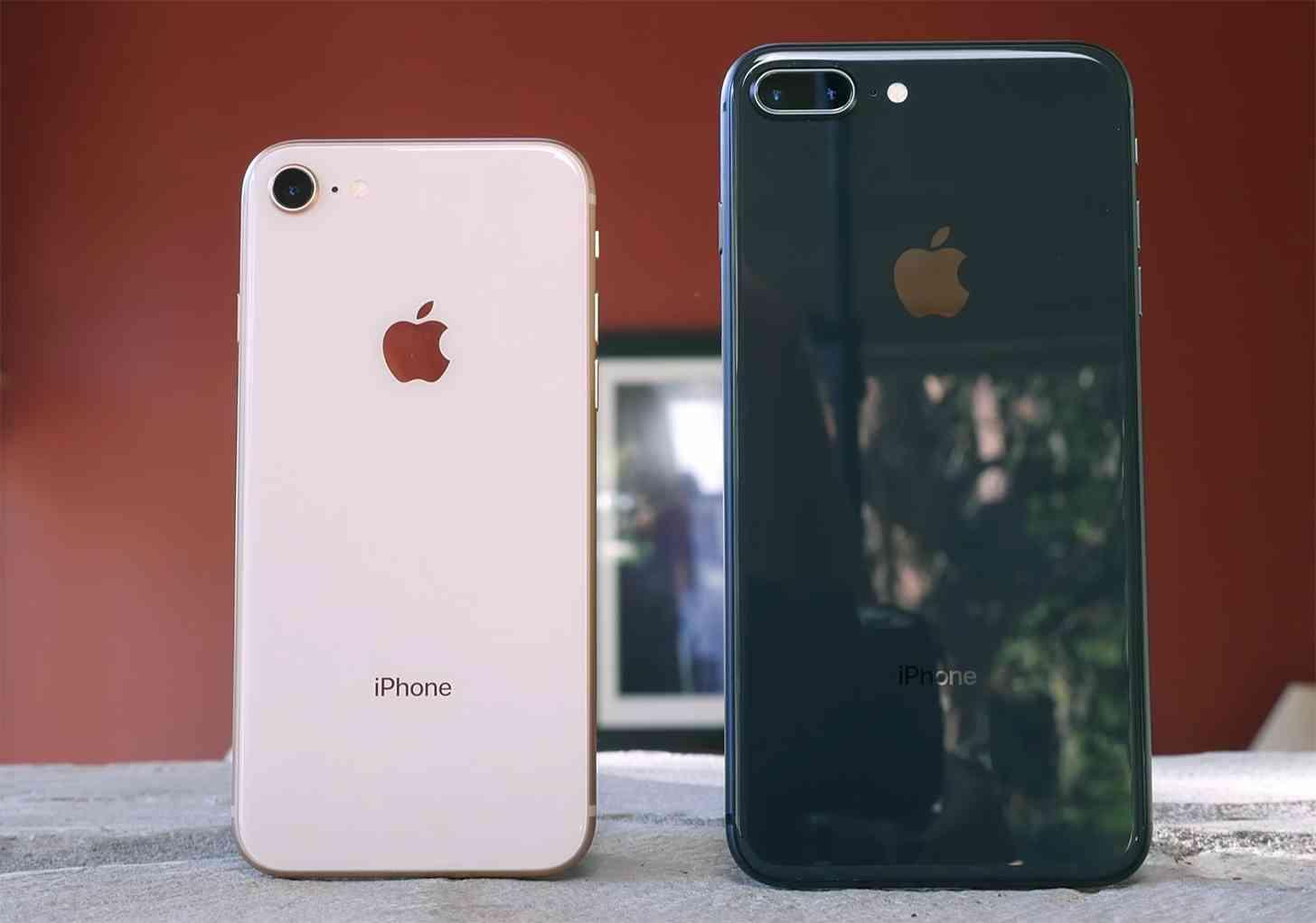 iPhone 8 and iPhone 8 Plus comparison