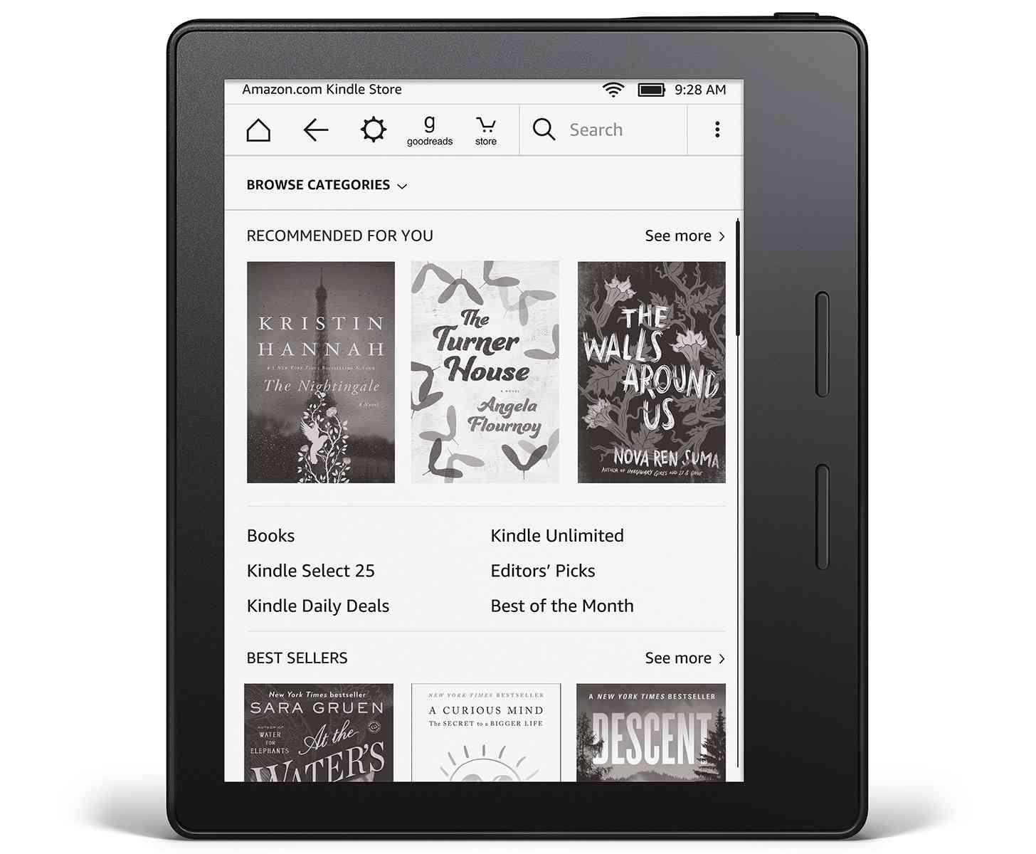 Amazon Kindle Oasis official