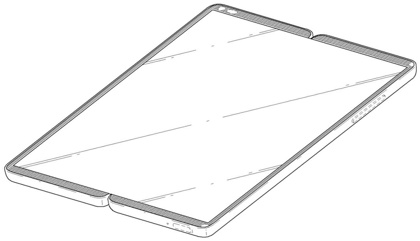LG foldable smartphone design patent
