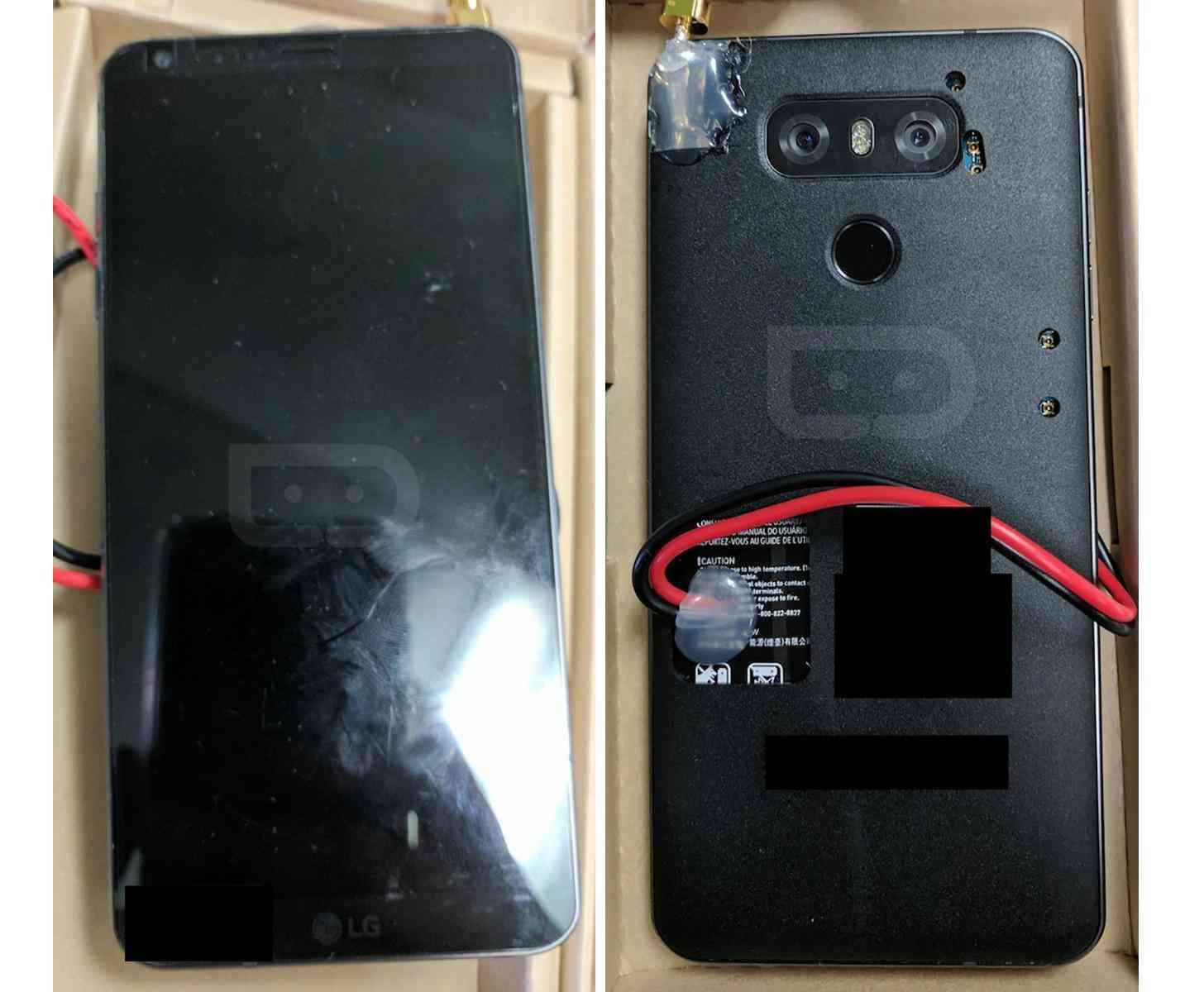 LG G6 prototype leak photos