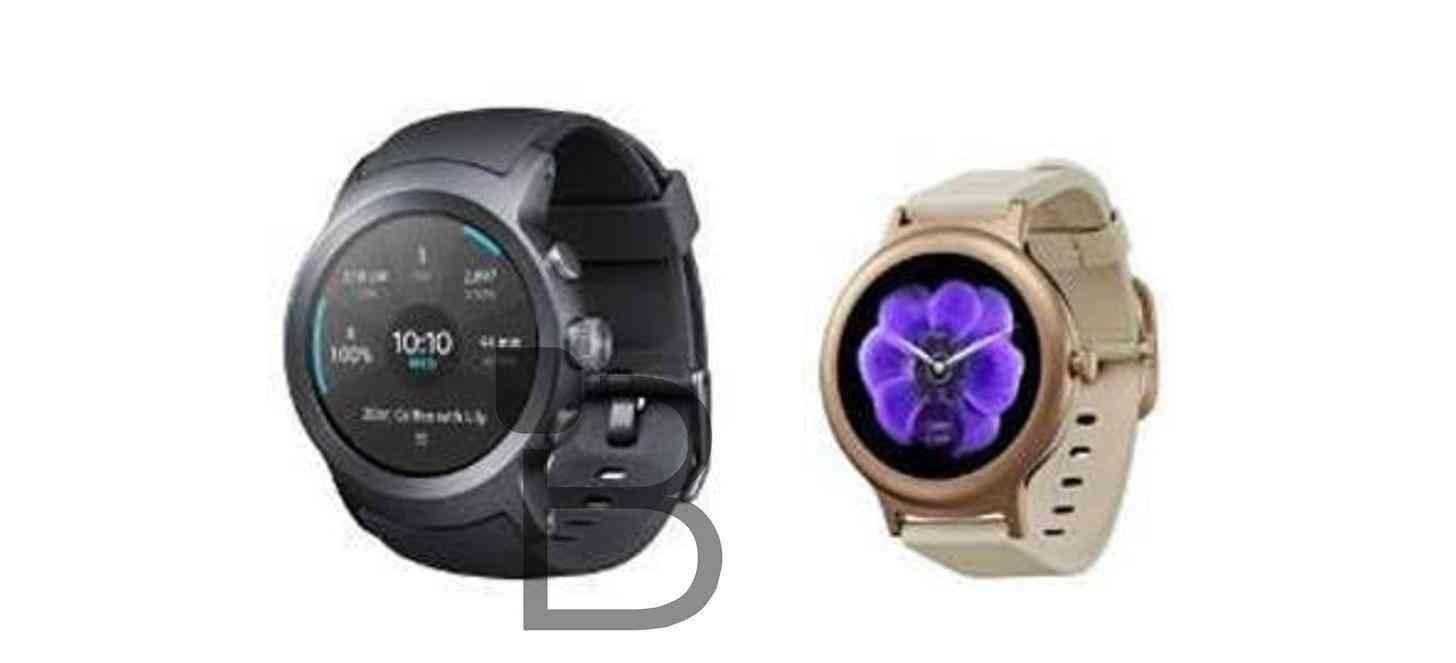 LG Watch Sport, Watch Style leak