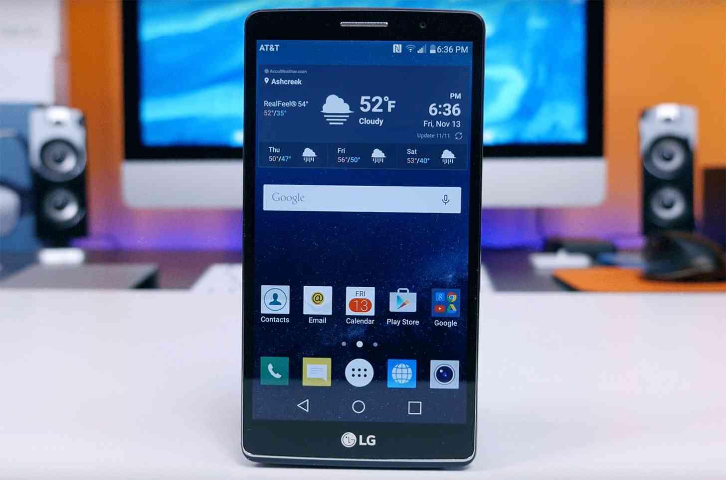 AT&T LG G Vista 2 unboxing