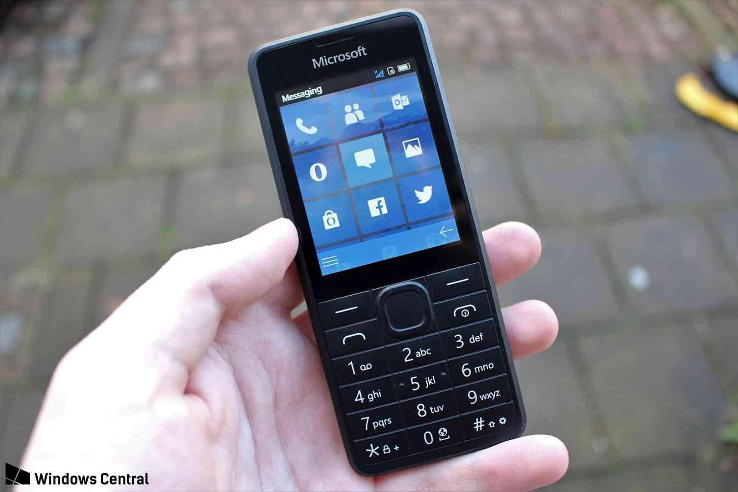 Microsoft RM-1182 feature phone prototype