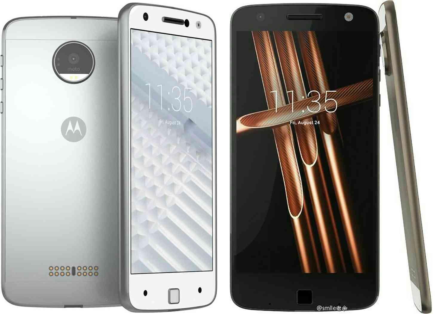 Moto Z phones leak