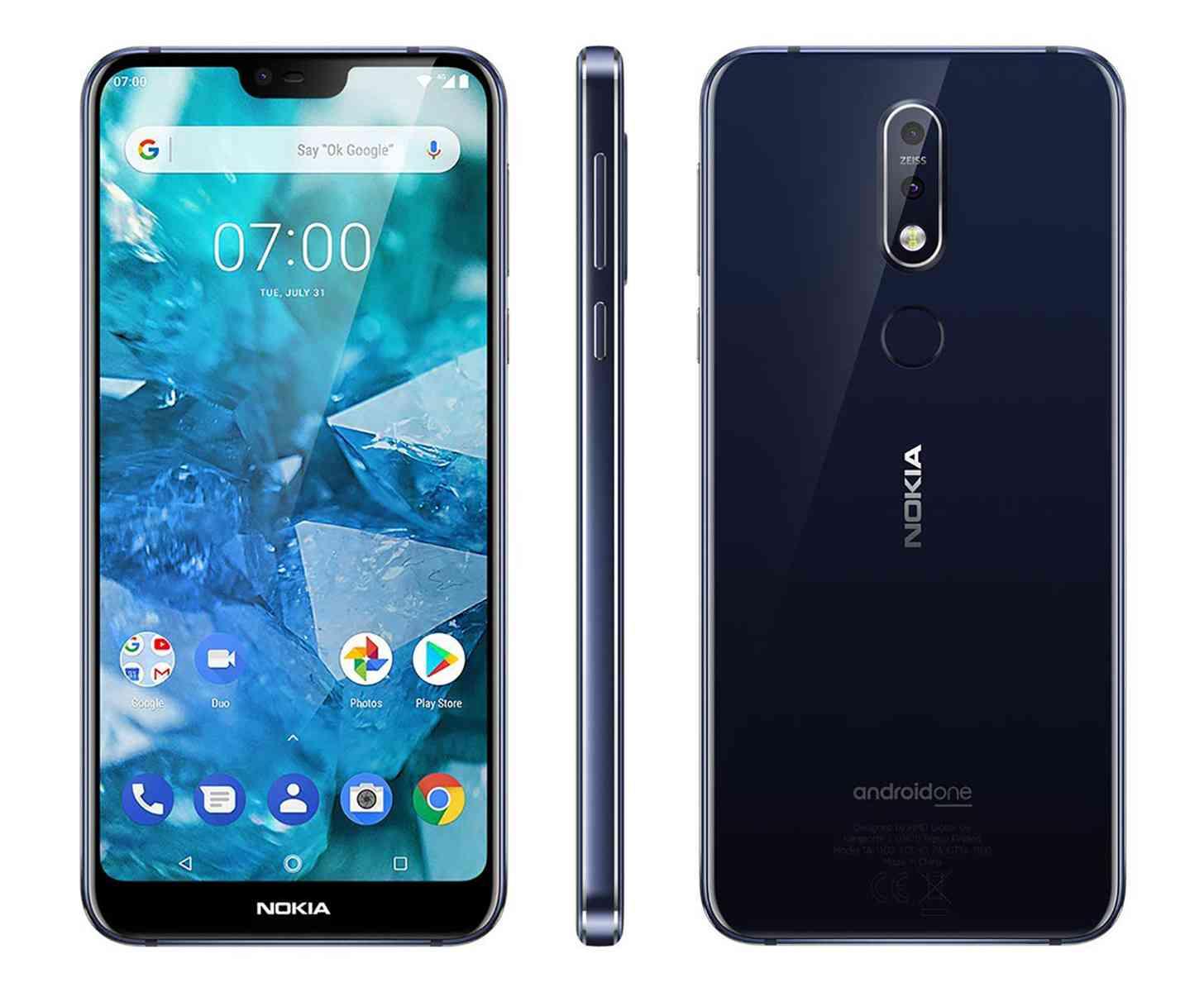 Nokia 7.1 blue official