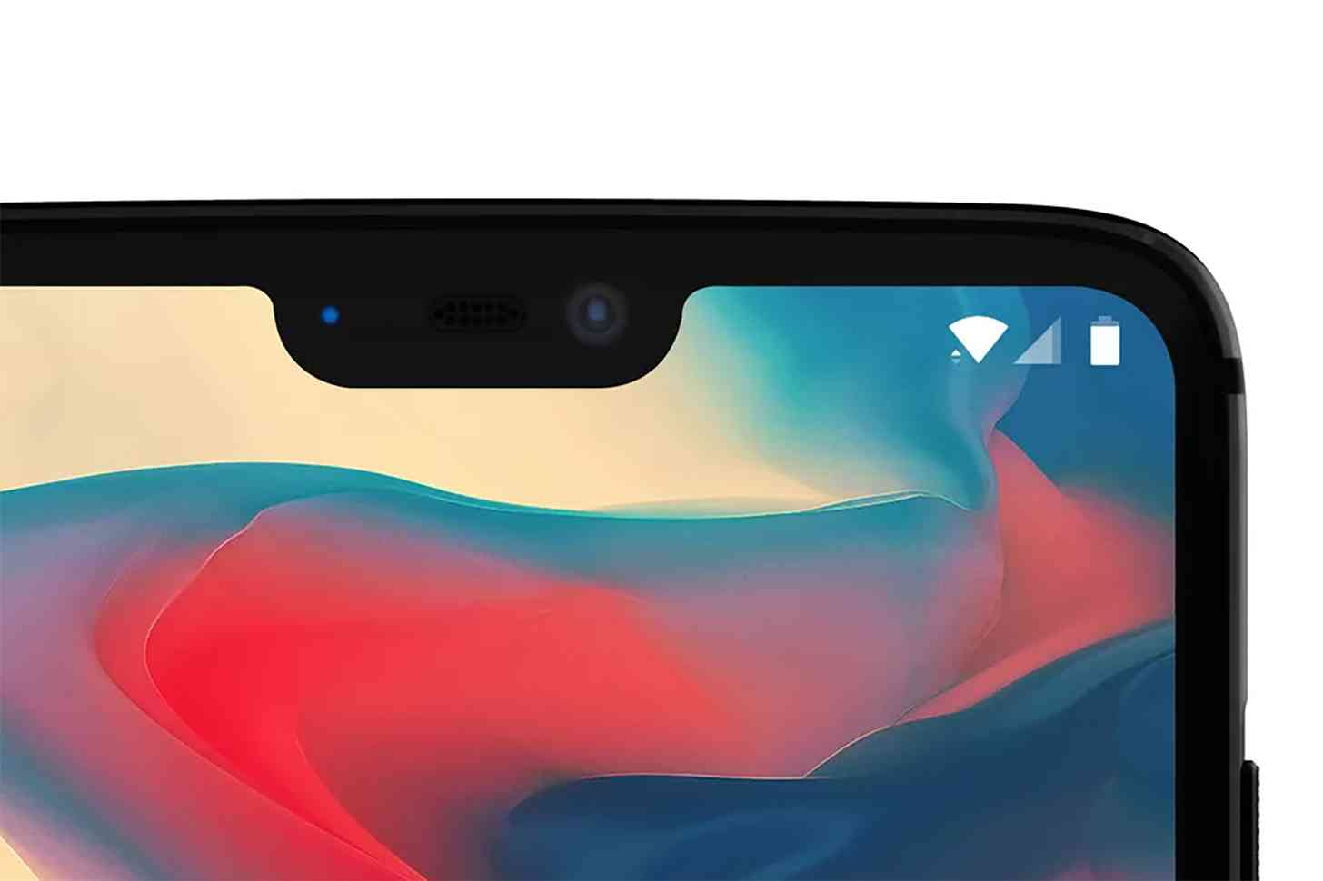 OnePlus 6 display notch official