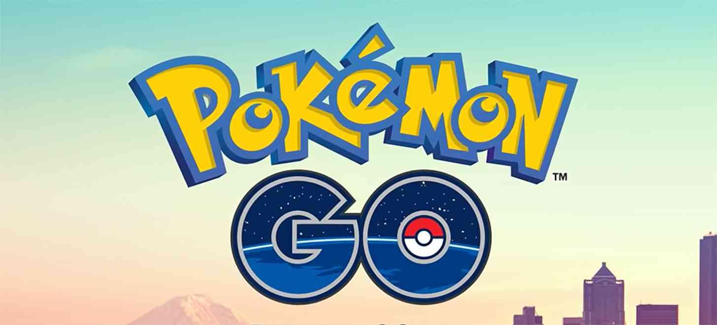 Pokemon Go logo large