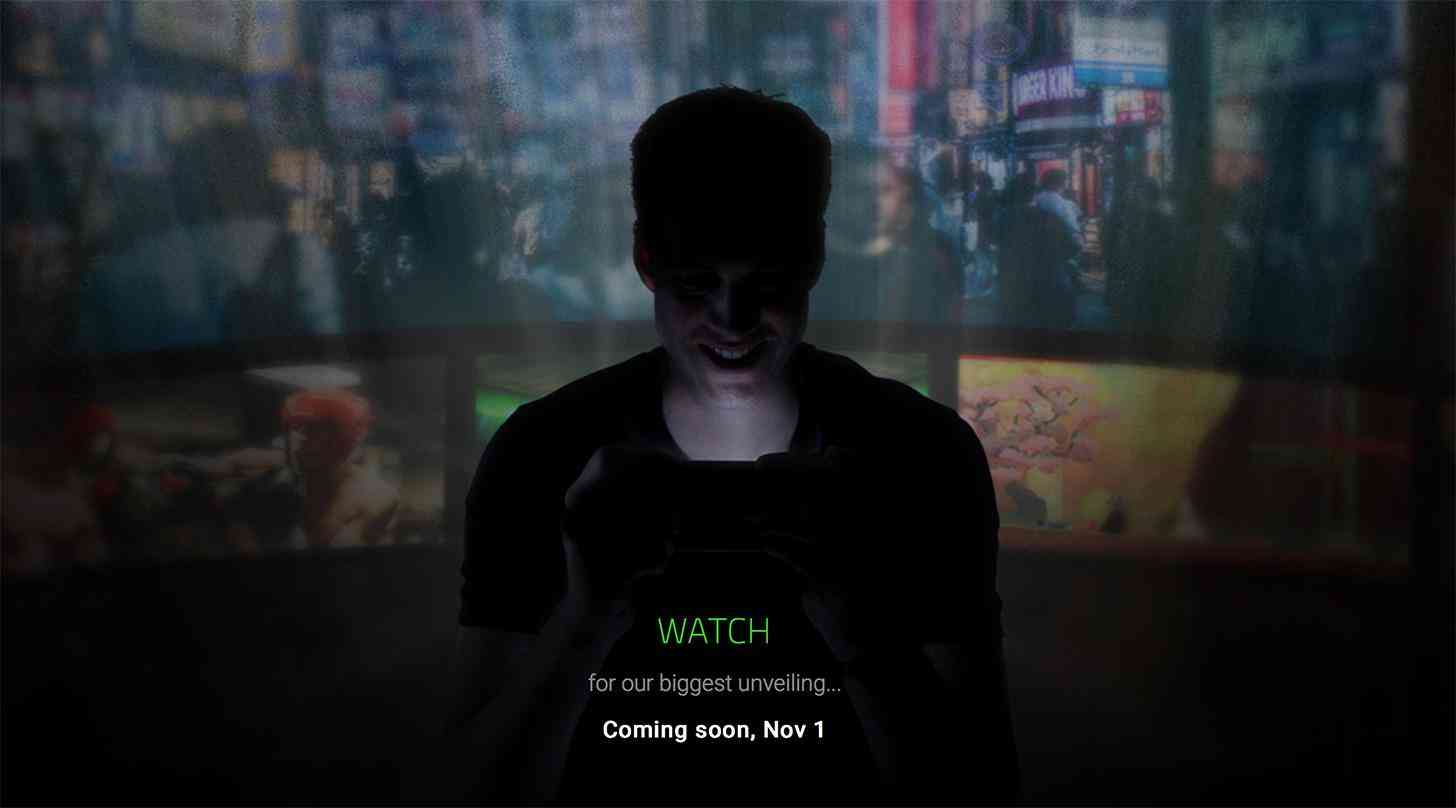 Razer November 1 event teaser