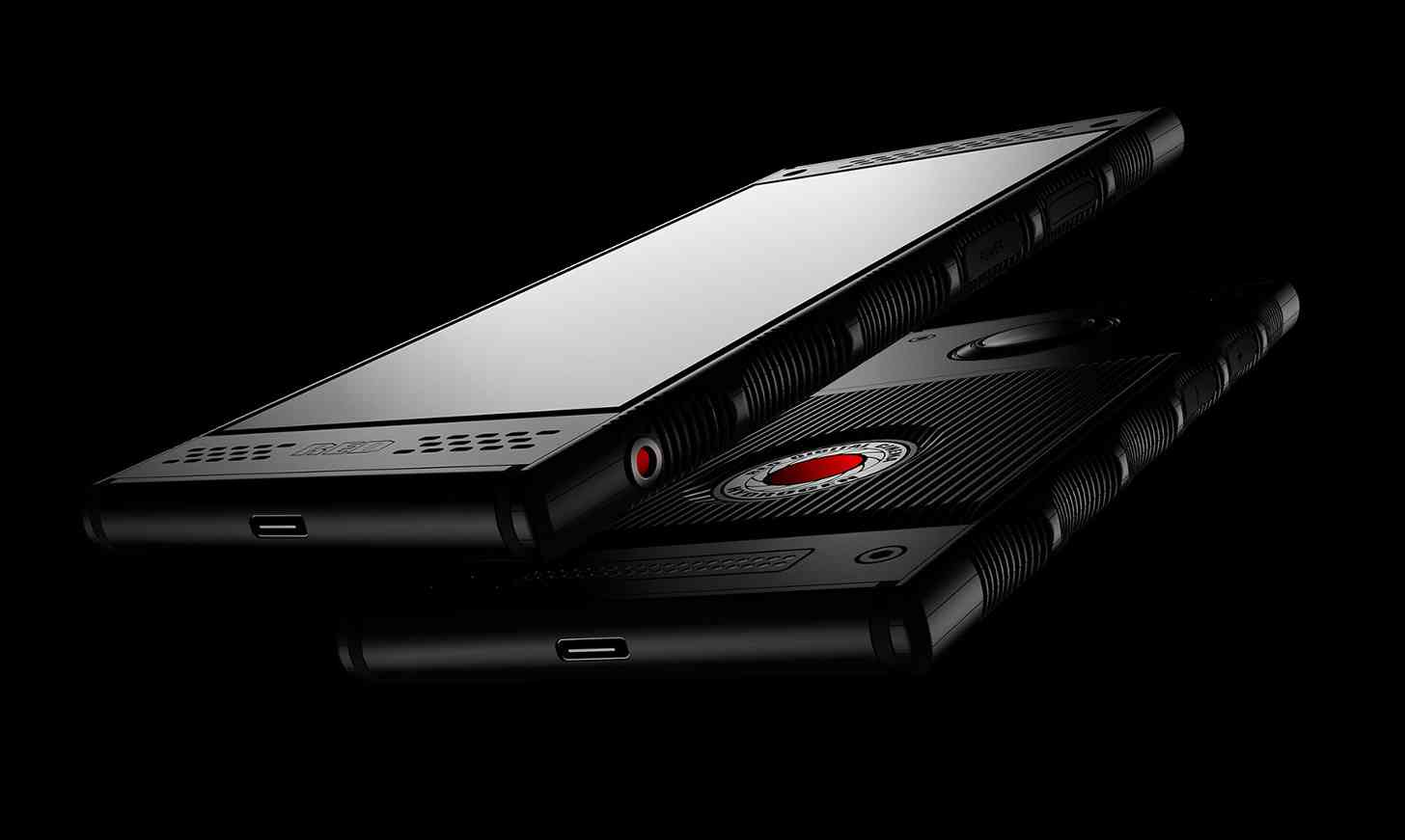 RED Hydrogen One front back