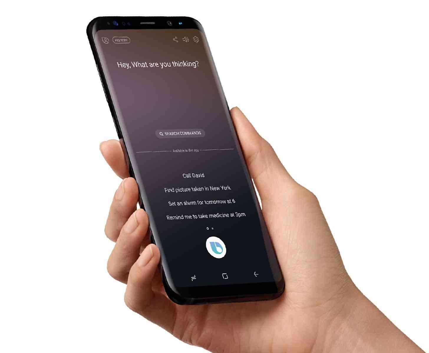 Samsung Bixby Voice Galaxy S8