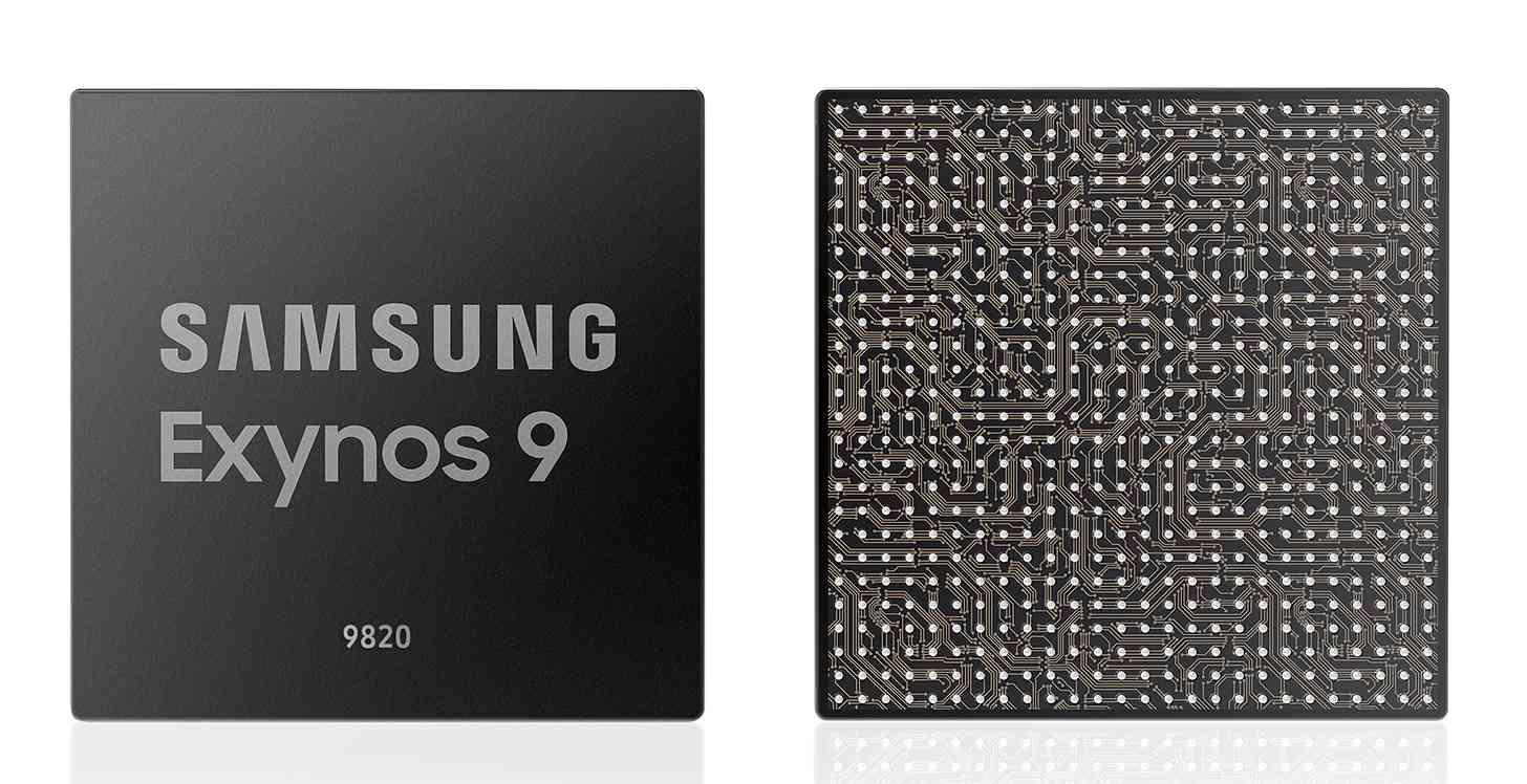 Samsung Exynos 9820 processor official