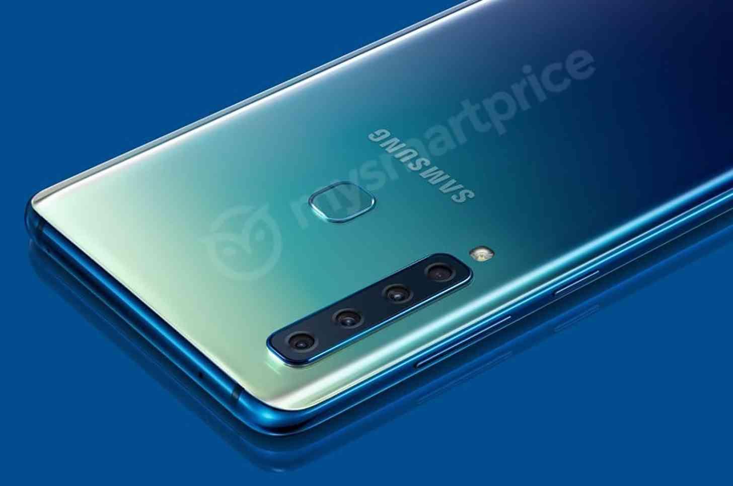 Samsung Galaxy A9 four cameras leak