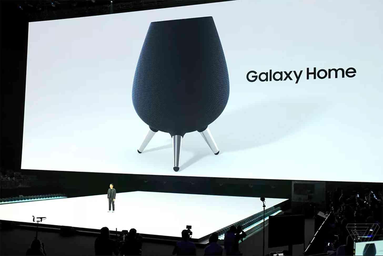 Samsung Galaxy Home Bixby smart speaker official