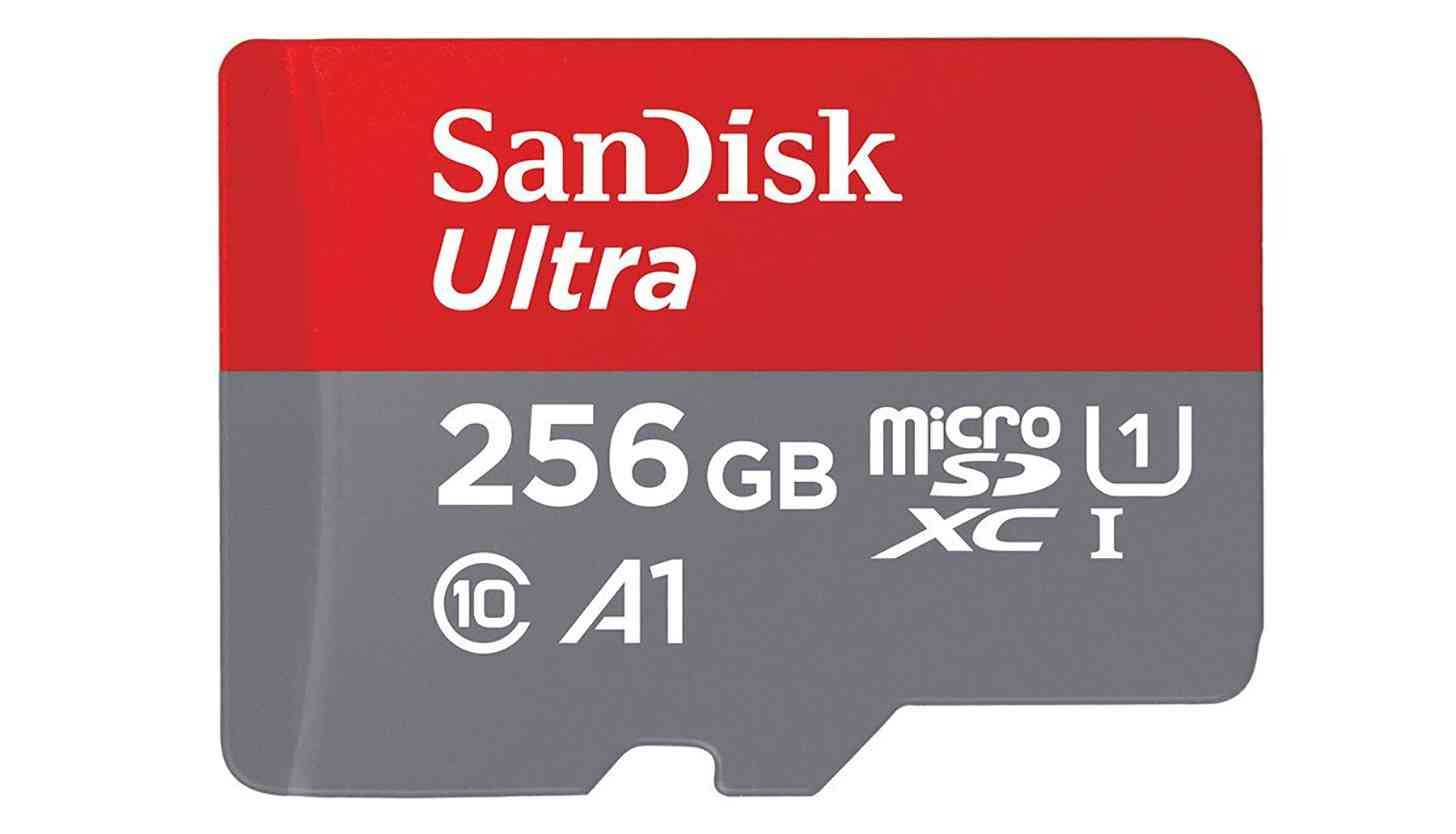SanDisk 256GB microSD card official
