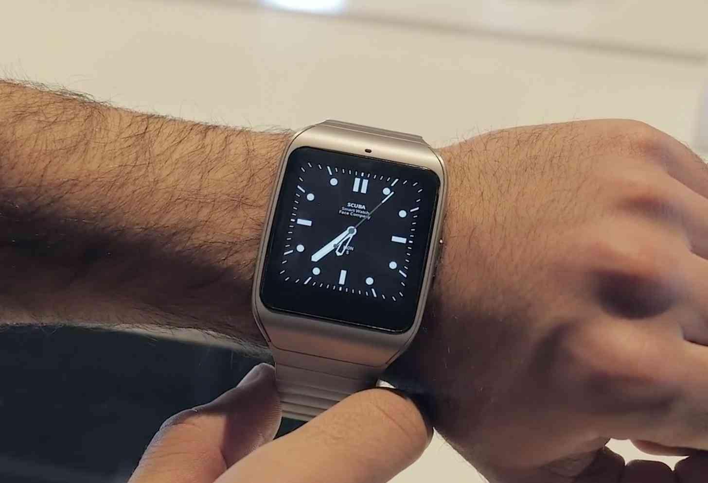 Sony SmartWatch 3 Steel hands-on