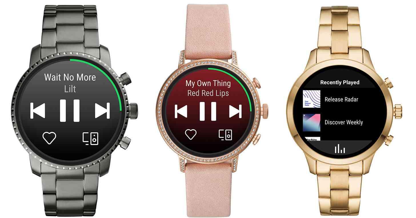 Spotify Wear OS app smartwatches