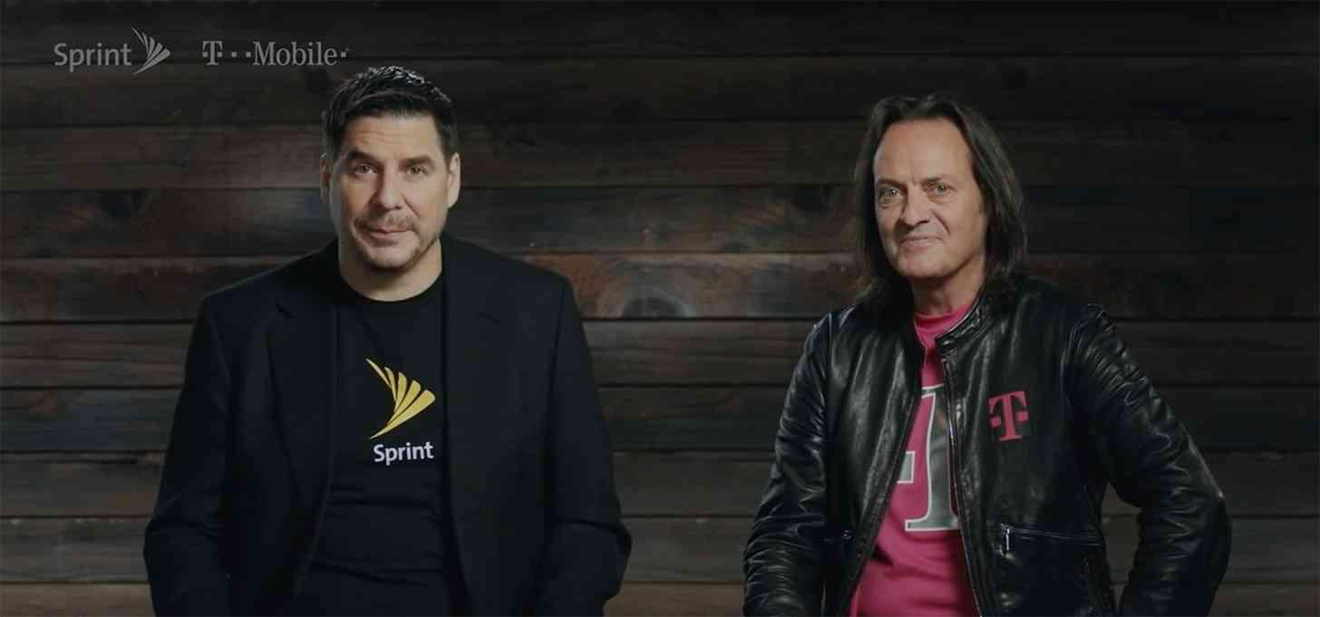T-Mobile Sprint merger Marcelo Claure John Legere