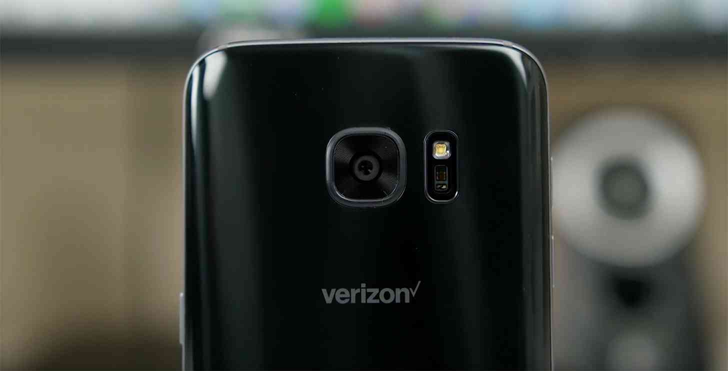 Samsung Galaxy S7 Verizon logo