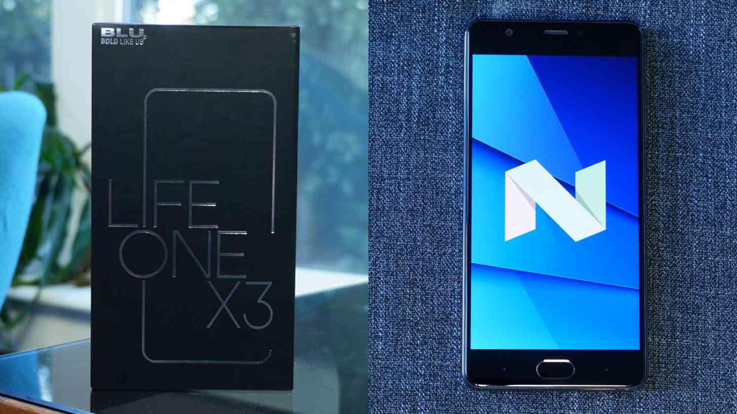 BLU Life One X3 Review - PhoneDog