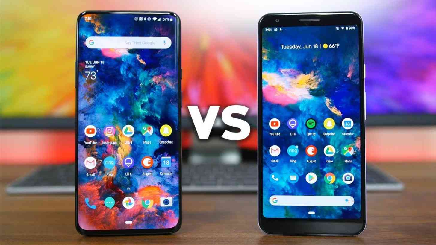 OnePlus 7 Pro vs. Google Pixel 3a XL: More Similar Than Youd Think!