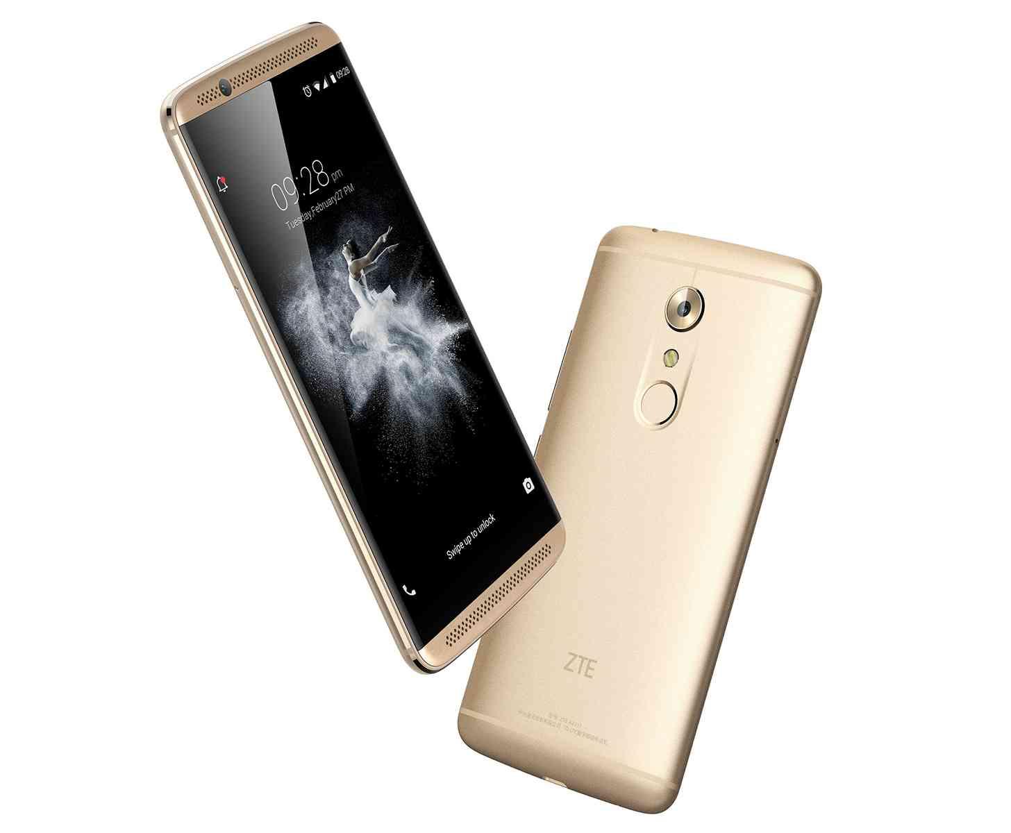 Zte axon 7 to get near stock android oreo update beta program zte axon 7 gold biocorpaavc Choice Image