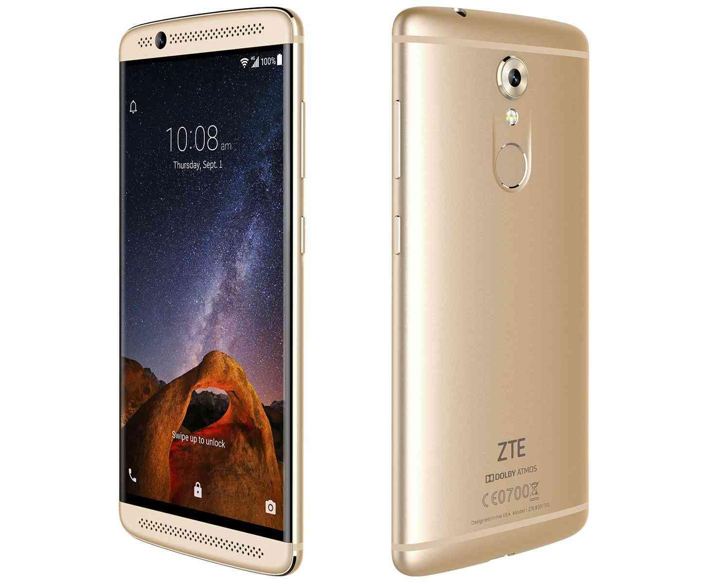 ZTE Axon 7 Mini gold official