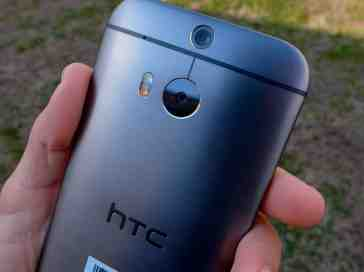 HTC One M8 rear