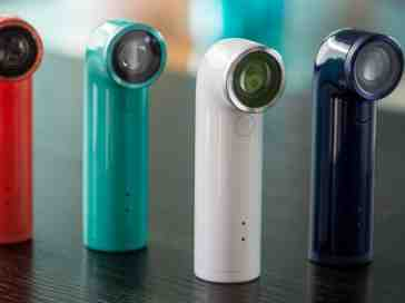 HTC RE Camera colors