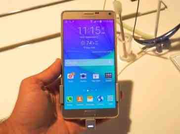 Samsung Galaxy Note 4 hands on