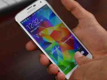 Samsung Galaxy S5 fingerprint reader