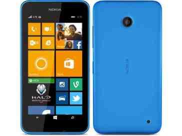 Nokia Lumia 635 cyan