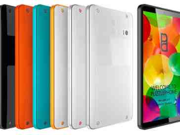 Puzzlephone modular Android smartphone colors