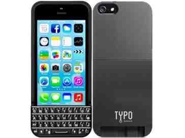 Typo Keyboard case iPhone