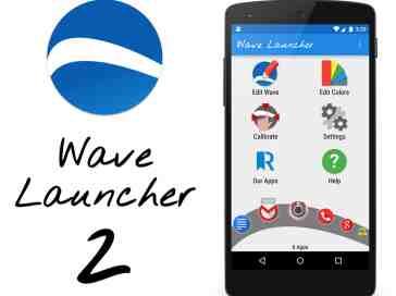 Wave Launcher app review feature