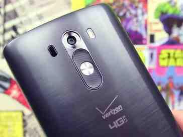 Verizon LG G3 closeup