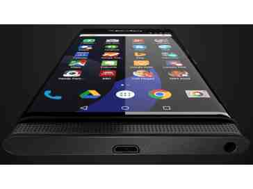 BlackBerry Venice Android leak