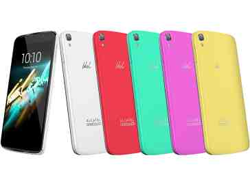 Alcatel OneTouch Idol 3C colors