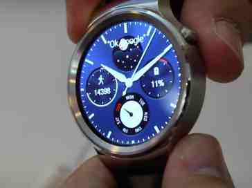 Huawei Watch hands on
