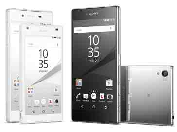 Sony Xperia Z5 family official