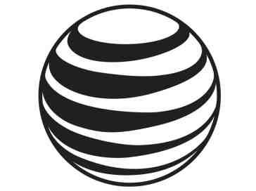 AT&T black globe logo