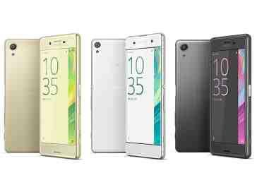 Sony Xperia X series phones