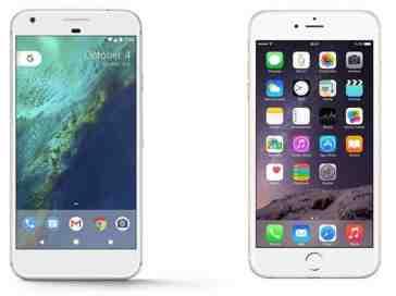 Google Pixel vs. Apple iPhone 7