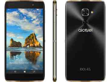 Alcatel Idol 4S with Windows 10