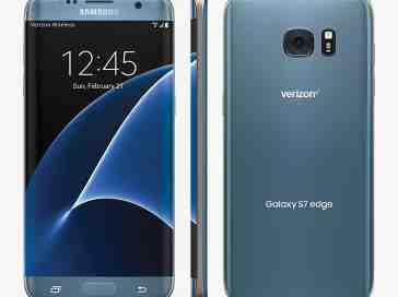 Verizon Blue Coral Galaxy S7 edge