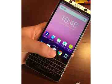 BlackBerry QWERTY Android phone