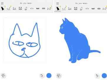 AutoDraw cat