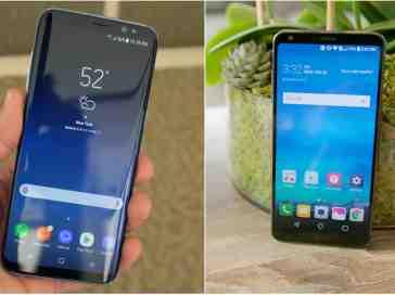 Samsung Galaxy S8 and LG G6